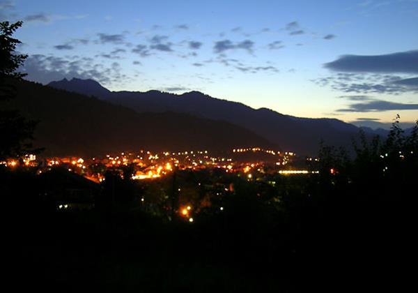 Morzine At Night
